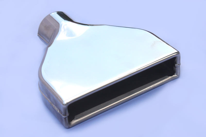 Weld-On Rectangular Exhaust Tip