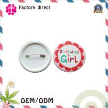 Artesanato de decorações de Natal Made in China Metal Pin Badge