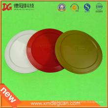 Bonne qualité Personnaliser le couvercle du couvercle de la tasse de la tasse en silicone