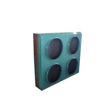 Condenseur de refroidissement par air avec quatre moteurs de ventilateur industriels