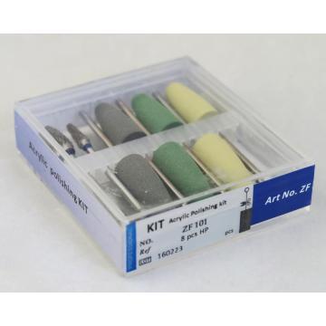 Dental Acrílico Polir Burs Kit