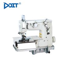 """DT2000C 1/4 """"aguja de control plano de la máquina de coser de la cerradura precio Chainstitch beltloop máquina de coser para la pretina"""