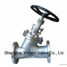 Stainless Steel Y Type Flanged Globe Valve