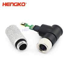 Temperature & humidity sensor probe with IP65 waterproof SS protection filter shell