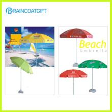 Ветрозащитный горячие продажи Custom пляжный зонтик
