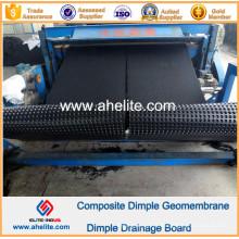 Geotêxtil composto de Geomembrana de Dimple HDPE