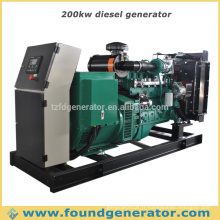 Générateur diesel 200kw ouvert open type CE