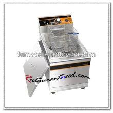 K586 Counter Top 1Tank 1 Basket Electric Deep Fryer