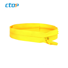 wholesale simple nylon long chain tape invisible zipper for women dress