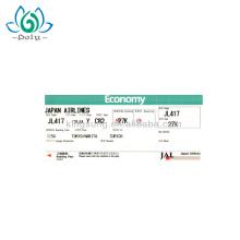 Hot Selling Custom Paper Print Boarding Pass