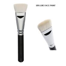 Cepillo de lujo blanco de la pintura de la cara del contorno (f109)