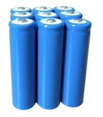 3.7 volt flashlight battery