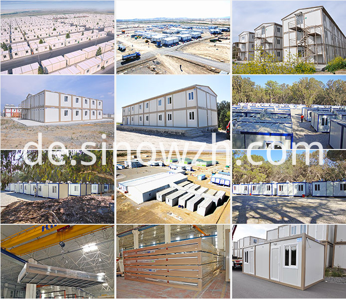 Container house usage standard house