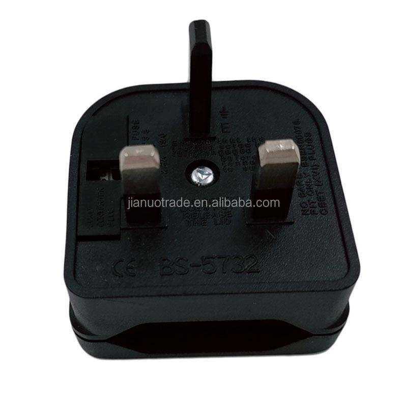 Travel Adapter EU to UK Converter Plug