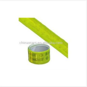 EN13356 Brazalete reflectante con cinta de PVC