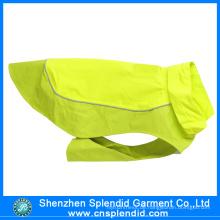 Kundenspezifische preiswerte hohe Sicht-Fluoreszenz-grüne Haustier-Kleidung