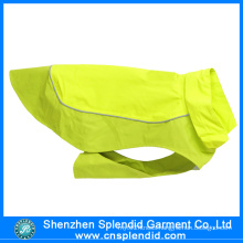 Custom Cheap High Visibility Fluorescence Green Pet Clothes