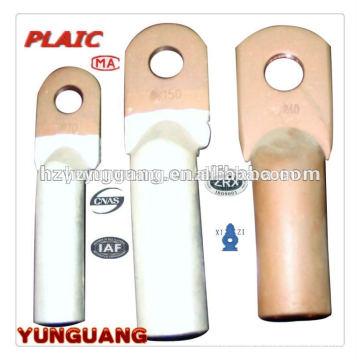 Terminais de conexão de alumínio de cobre do tipo da compressão do Bi-metal Acessórios de distribuição elétricos de peças da junção do cabo de poder de LUGS