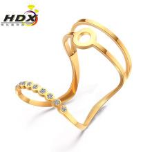 Stainless Steel Rings Ladies Rings Fashion Jewelry Diamond Ring (hdx1152)