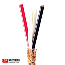 Copper  conductor XLPE insulated PVC sheathed braid shielded soft control cable