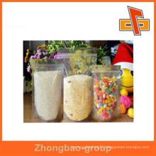 Custom PVC ziplock plastic bag