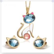 Fashion Accessories Fashion Jewelry Stainless Steel Jewelry Set (JS0224)