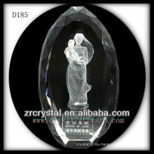 Imagen subsuperficial del láser 3D K9 Dentro del óvalo de cristal
