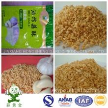Grãos de alho fritos dos produtos do alho de Jinxiang Hongsheng