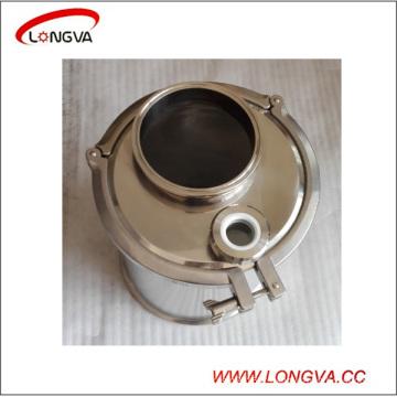 Bobine hygiénique de bride de tri d'acier inoxydable et chapeau d'extrémité avec des garnitures de tuyau