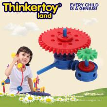 Новая ABS творческая красочная игрушка блока здания для детей