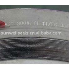 Titanium Spiral Wound Gaskets,Ti2,sunwell have raw materials(SUNWELL)