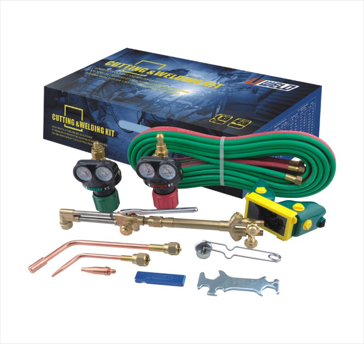 Acetylene Regulator Using in Welding Kit