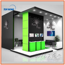 Custom exhibition expo booth display stand, fashion fabric trade show booth exhibition display Custom exhibition expo booth display stand, fashion fabric trade show booth exhibition display