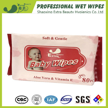 Baby Aloe Vera Cleaning Use Wet Tissue