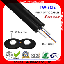 FTTH 1-4 Core Indoor Drop Fiber Optical Cable