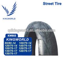 pneumático de pneu sem câmara de ar moto 120/70-17