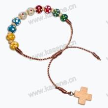 Pflaumenblüten gemischtes Colurschnur Rosenkranz Armband