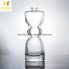Botella de cristal modificada para requisitos particulares caliente del perfume del diseño de la moda del precio de fábrica