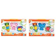 2015 Новый 3 шт. Пластиковые детские погремушки кольцо колокола (10220300)
