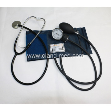 Aneroid Sphygmomanometer With Single Head Stehtoscope