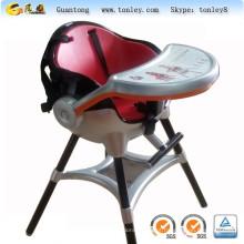cremalheira de cadeira de plástico de precisão gravando a fabricação de moldes de alumínio
