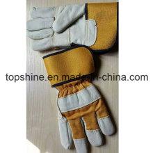 Горячая продажа Промышленная безопасность Cowhide Split Leather Worker Labor Gloves