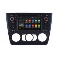 Lecteur DVD de voiture Android 5.1 pour Bmwbmw 1 E81 / E82 / E88 Navigation radio avec connexion téléphonique