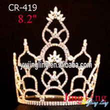 Los Voluntarios Juveniles Rhinestone Crown For Party