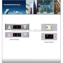 Indicateur de position de l'ascenseur, indicateur de la salle des ascenseurs, indicateur lcd de l'ascenseur