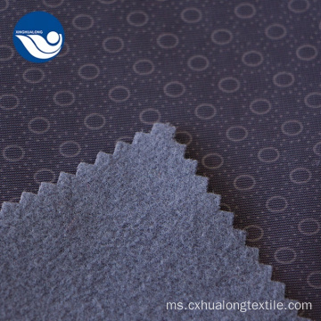 Custom Polyester Embossed Lining Circular Point Fabric