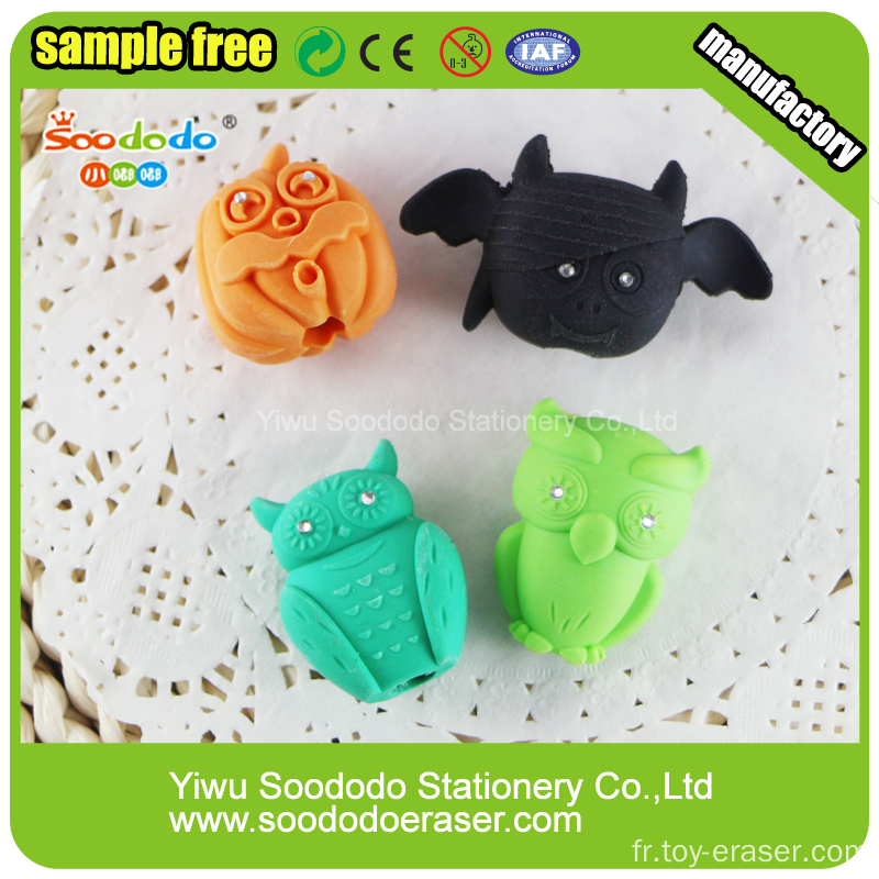 Cute Fancy 3D Food Ice Cream Shape Erasers