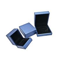 Изготовленные на заказ кожаные украшения роскошные подвесные коробки для колец