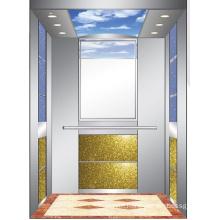 Aksen Mirror Etched Machine Room Passenger Elevator J0333