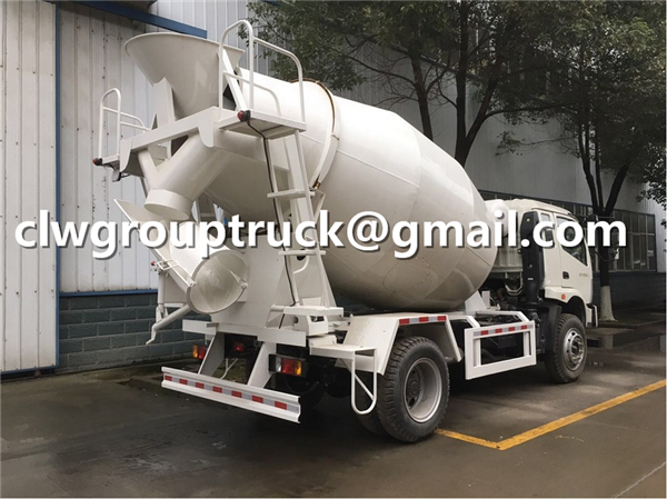 Concrete Mixering Transport Truck